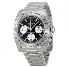 Tudor Classic Chronograph Black Dial Stainless Steel 20300-BKSSS Replica Watch