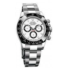 Rolex Cosmograph Daytona 116500 White Dial Stainless Steel Oyster replica Watch