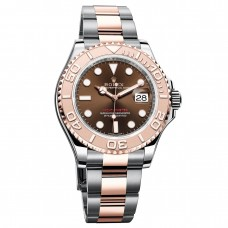Rolex Yacht-Master 116621 Chocolate Dial Steel and 18K Everose Gold Oyster replica Watch