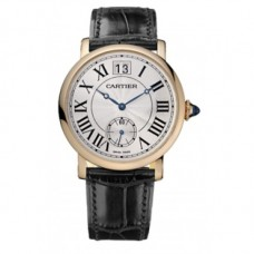 Cartier Rotonde Silver Guilloche Dial Unisex Watch w1552751
